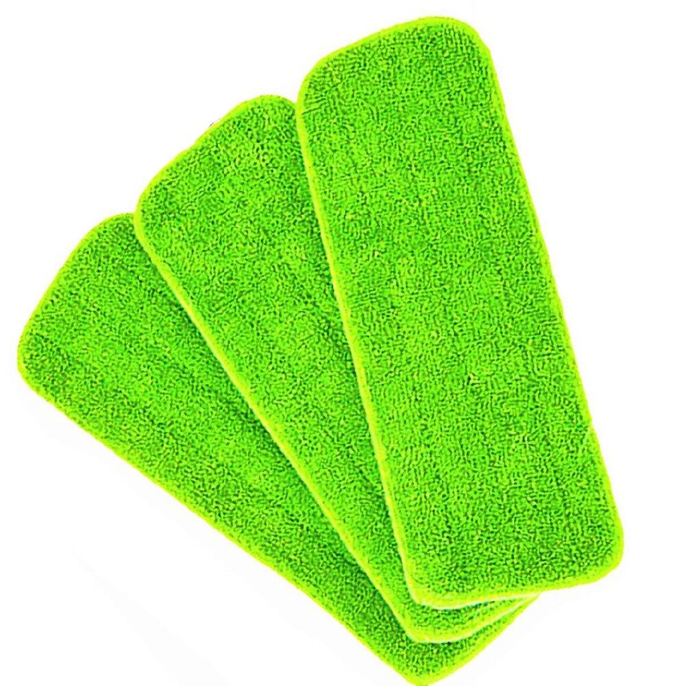 3 peças revelam mop cabeça almofada de substituição limpeza mop molhado almofada para todos os esfregões de pulverizador & revelar esfregões lavável 40x12cm