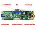 "Universal VGA LVDS de 30 Pines Monitor Controller Board Módulo Kit DIY para Raspberry PI 3 7 ""-24"" LCD Panel de Visualización de Matriz"