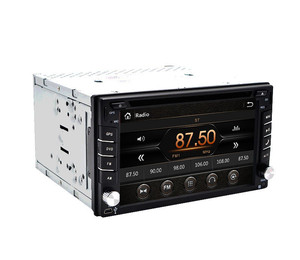 """Touch Screen car dvd player gps navigation Bluetooth FM 6.2"""" 2din in dash TFT support rearview camera input(China)"""