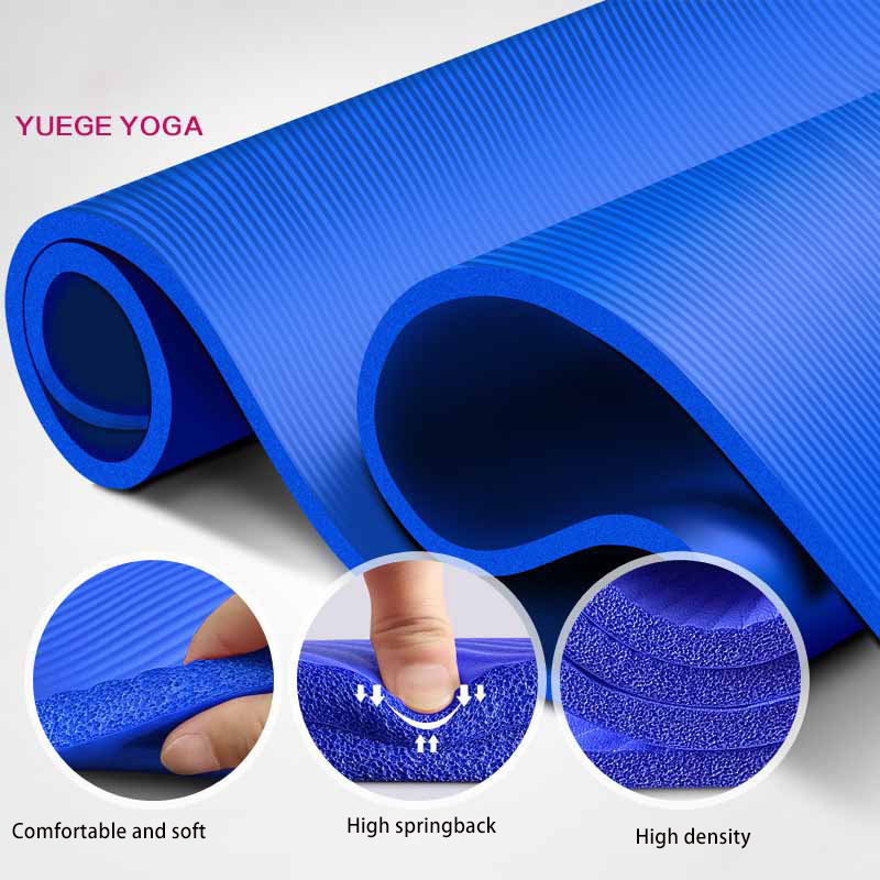 Image 2 - 183*61*1.5cm Yoga Mats With Body Line Thick Hot Yoga Pilates Mats Gymnastics Balance Pads Fitness Mats Non Slip Dance Pads-in Yoga Mats from Sports & Entertainment