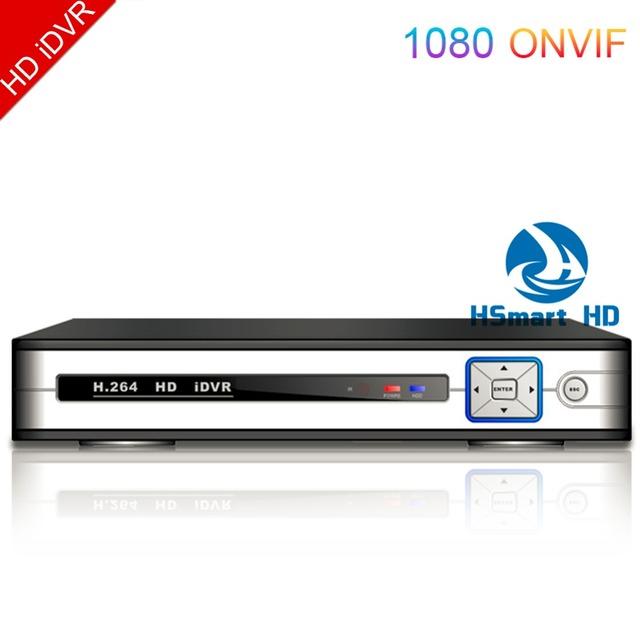 16 CH HD iDVR 3 em 1 CCTV 8CH ADVR/DVR/NVR 4CH AHD híbrido 1080N DVR Para IPC HD AHD Câmeras