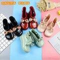 Sapato Infantil Menina Botas Criança Botas De Borracha Jelly Macio à prova d' água Do Bebê crianças Botas de Chuva Com Arco Meninas Crianças Sapatos de Chuva Arco BO39