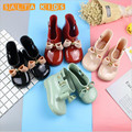 Waterproof Child Rubber Boots Jelly Soft Infant Shoe Girl Boots Baby Kids Rain Boots With Bow Girls Children Rain Shoes Bow BO39