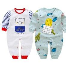 Spring Autumn 2018 children Bodysuits fashion long sleeve baby Girls Jumpsuit kids clothing cotton 2pcs/set