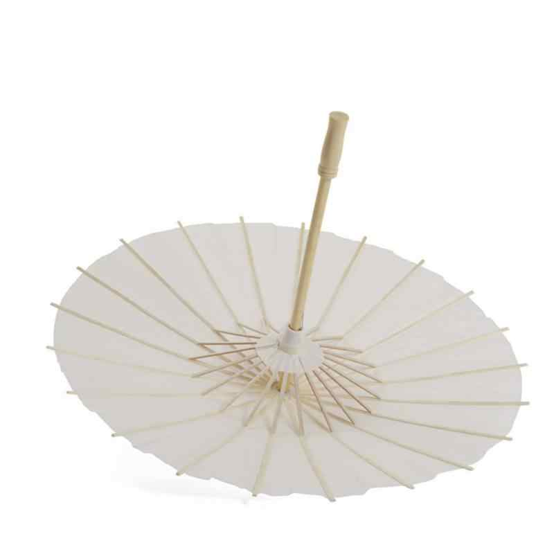 Китайский стиль пустой масляной бумаги зонтик для детей DIY проект домашние декоративные предметы художественная роспись декоративные