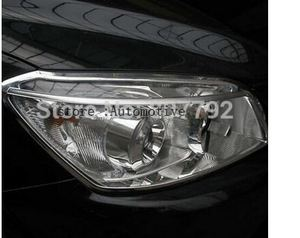 Front Headlight Head Light Lamp Cover Trim 2pcs for Toyota RAV4 2006 - 2012