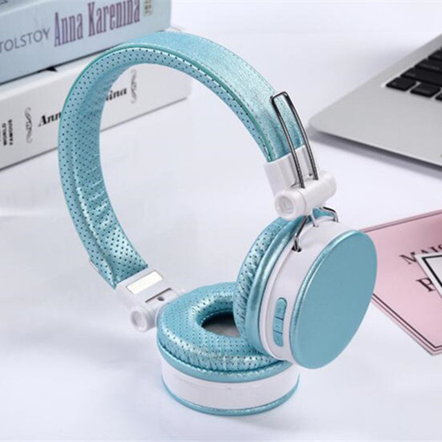 96930b91870e 50pcs SY-BT1604 SY-BT1604 head-mounted leather bass Bluetooth headphone for  sport
