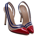 Red Stiletto Shoes Women Gold High Heels Pumps Ladies Fashion Shoes  Sexy Women Heels Shoes Evening Party Shoes For Women