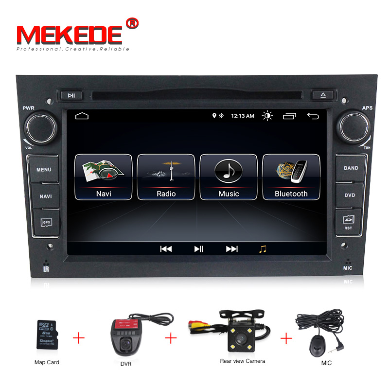 2 Din Android 8.0 Quad Core Car dvd player For Opel Astra H G J Vectra Antara Zafira Corsa Meriva GPS Navi Radio audio RDS WIFI