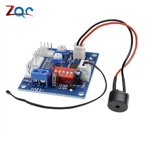 DC 12V 5A PWM PC Вентилятор температура Manumotive контроллер скорости модуль ЦП высокая температура сигнализация с Базз зондом для Arduino теплоотвод