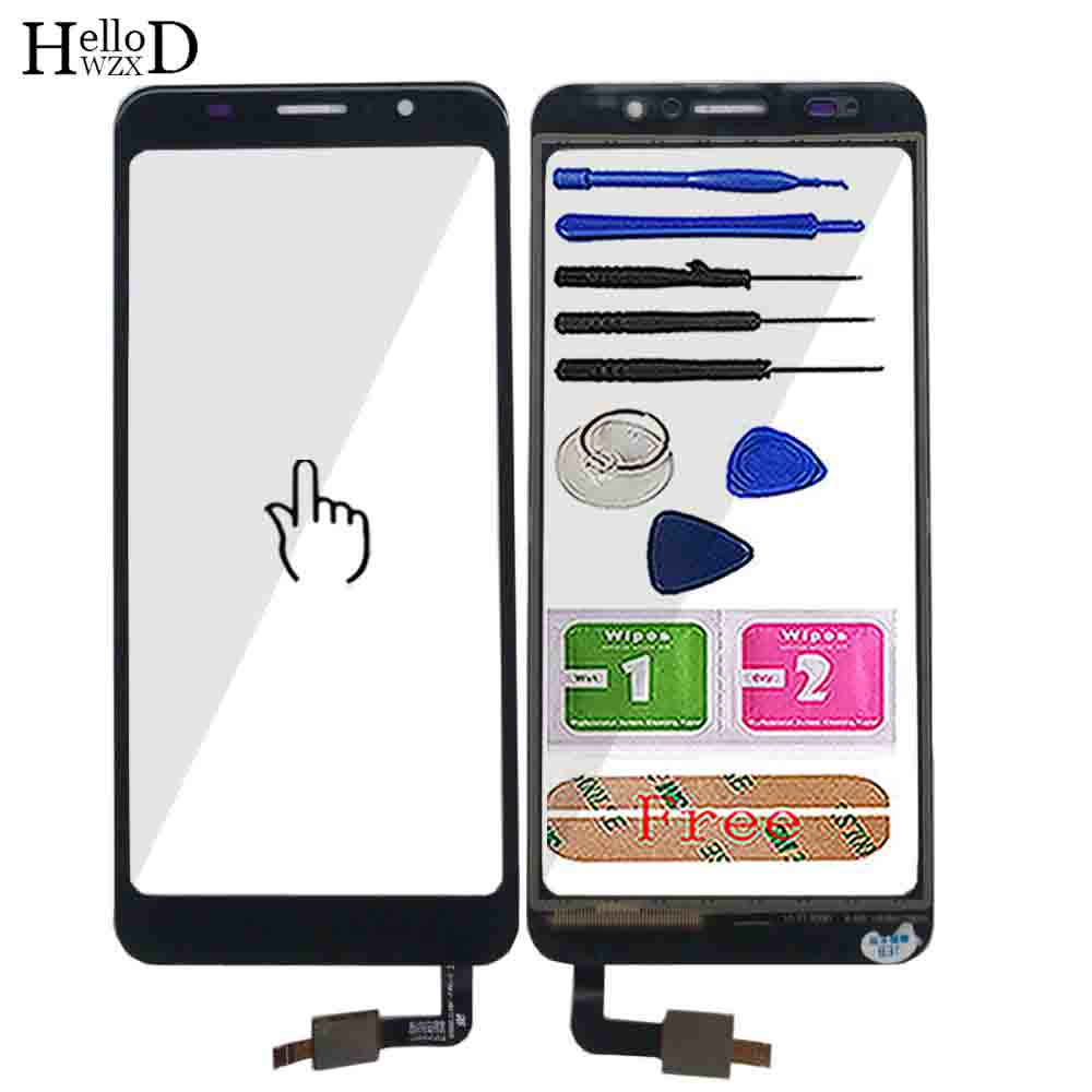 5.5'' Touch Screen TouchScreen For <font><b>Homtom</b></font> <font><b>C8</b></font> Touch Screen Front Glass Digitizer Panel Touch Screen C 8 Mobile Tools Adhesive image