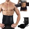 Nueva Ajustable Cintura Trimmer Ejercicio Sudor Cinturón Faja Para Adelgazar Bajar de Peso Quemador de Grasa Corporal Burn Celulitis para Hombres Mujeres