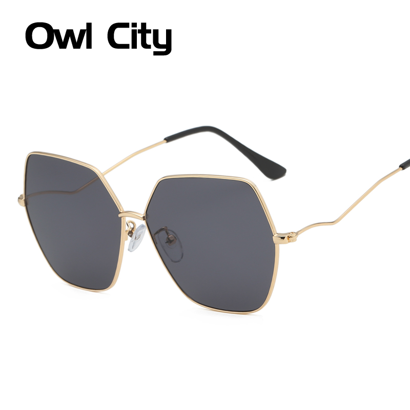Sunglasses Women Vintage Square Men Oversized Sunglass Luxury Brand Retro Plus Size Sun Glasses Hipster Man Ladies Shades