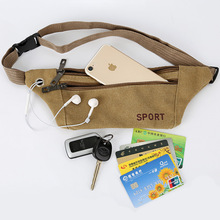 Outdoor Riding mountaineering multifunctional bag tactical waistband male fashion casual lady canvas sports running waist bag tuban multifunctional summer running sports waist bag