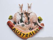 Australian kangaroo special tourist souvenir refrigerator