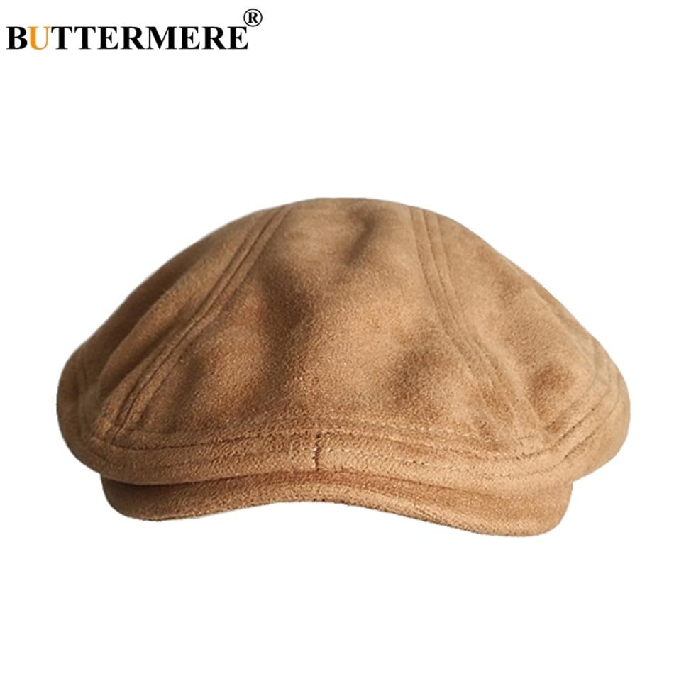 BUTTERMERE Hat Berets Ivy-Cap Duckbill Artistic Female Autumn Vintage Winter Women Casual