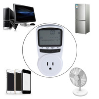 TS 1500 Electronic Energy Meter LCD Energy Monitor Plug In Electricity Meter For US Plug Monitor