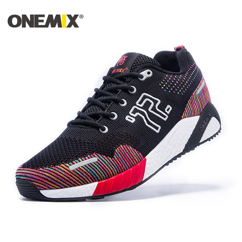 onemix 2017 Spring Mens running shoes Athletic Shoes for men women running shoes unisex jogging sneakers Outdoor Sport shoes ...