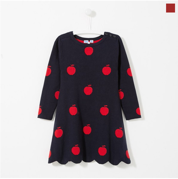 цены J Brands Baby Girls Sweaters Winter 2017 New Girl Long Sleeve Knitted Clothes Kids Autumn Cartoon full Sweater  dress For Girls