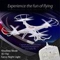 Original Dron 2.4 GHz 4CH 6-Axis Gyro 3D Acrobático RC Drone Quadcopter RTF Aviones con Wifi Función de control de Vuelo helicóptero