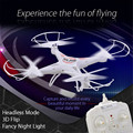 Original RC Drone Dron 2.4GHz 4CH 6-Axis Gyro 3D Aerobatic Quadcopter RTF Drones with Wifi-controlled Function Flying Helicopter