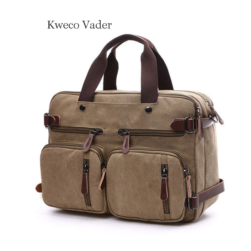 Kweco Vader Brand Shoulder Bags for Women 2018 Canvas Handbags Bussiness Briefcase Casual Bags For Female Bolsas Femininas