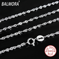 100% real pure 925 sterling silver jewelry thin chains necklaces for women lady accessories gifts Bijoux free shipping CC004