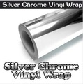 "400mm x 1520mm DIY Chrome  Air Free Mirror Vinyl  Wrap Film Sticker Sheet Decal 15""x60"" Emblem Car Bike Motor Body Protect"