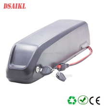 Free shipping 24V 250W polly tube electric bicycle battery pack 12.5Ah 15Ah 17.5Ah lithium with charger