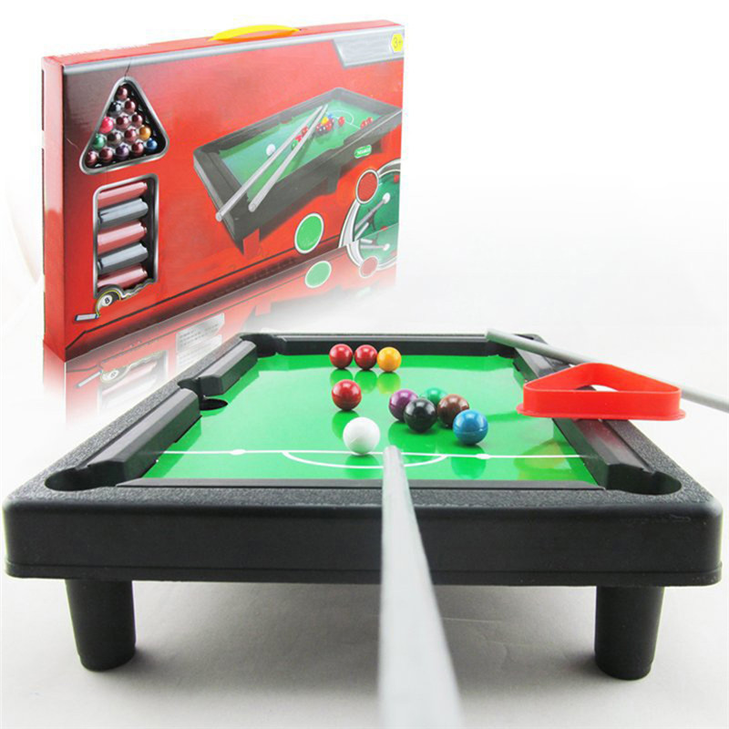 Mini Table Games Children Billiards Pool Table Indoor Sports Household Kids Board Game Gifts