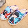 Anime Tokyo Ghoul Kaneki Ken Shoes Winter Soft Plush Slipper Antiskid Indoor Home Slippers
