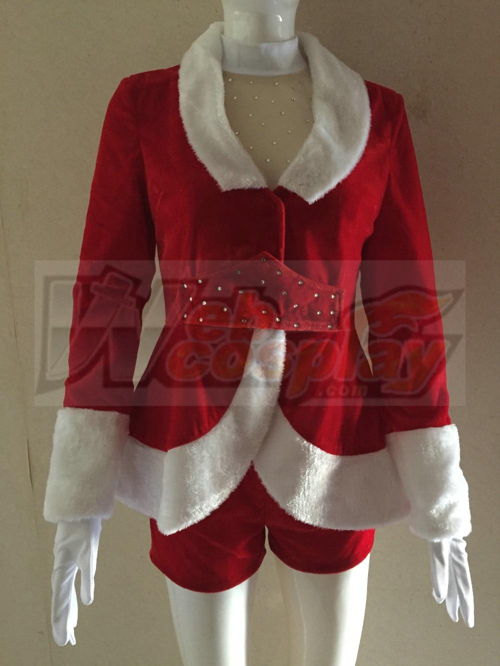 Radio City Rockettes Santa - Carnavalskostuums
