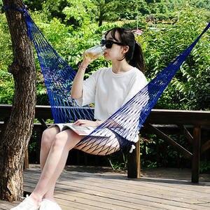 Garden Hammock Hamaca Sleeping-Bed Outdoor Camping Swing-Hang-Mesh Travel Portable
