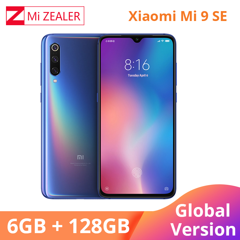 "Global Version Xiaomi Mi 9 SE 6GB 128GB 5.97"" Full Screen Mobile Phone Quick Charge 3.0 Snapdragon 712 Octa Core"