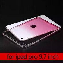 Para iPad ipad Pro de aire 3 9.7 de caucho de silicona suave de TPU cubierta de la Caja protectora para el ipad de Apple Pro 9.7 pulgadas Tablets Accesorios S2c42D