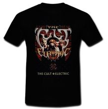 Teenage T Shirt Premium Short Sleeve The Cult Electric 1987 Rock Band Billy Idol Missionl Tee Shirts For Men