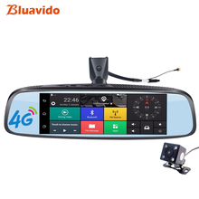 Bluavido 8.0″ 4G Car Rearview Mirror DVR GPS Navigetion ADAS Full HD 1080P Video Camera Recorder Bluetooth WIFI 16G ROM Dashcam