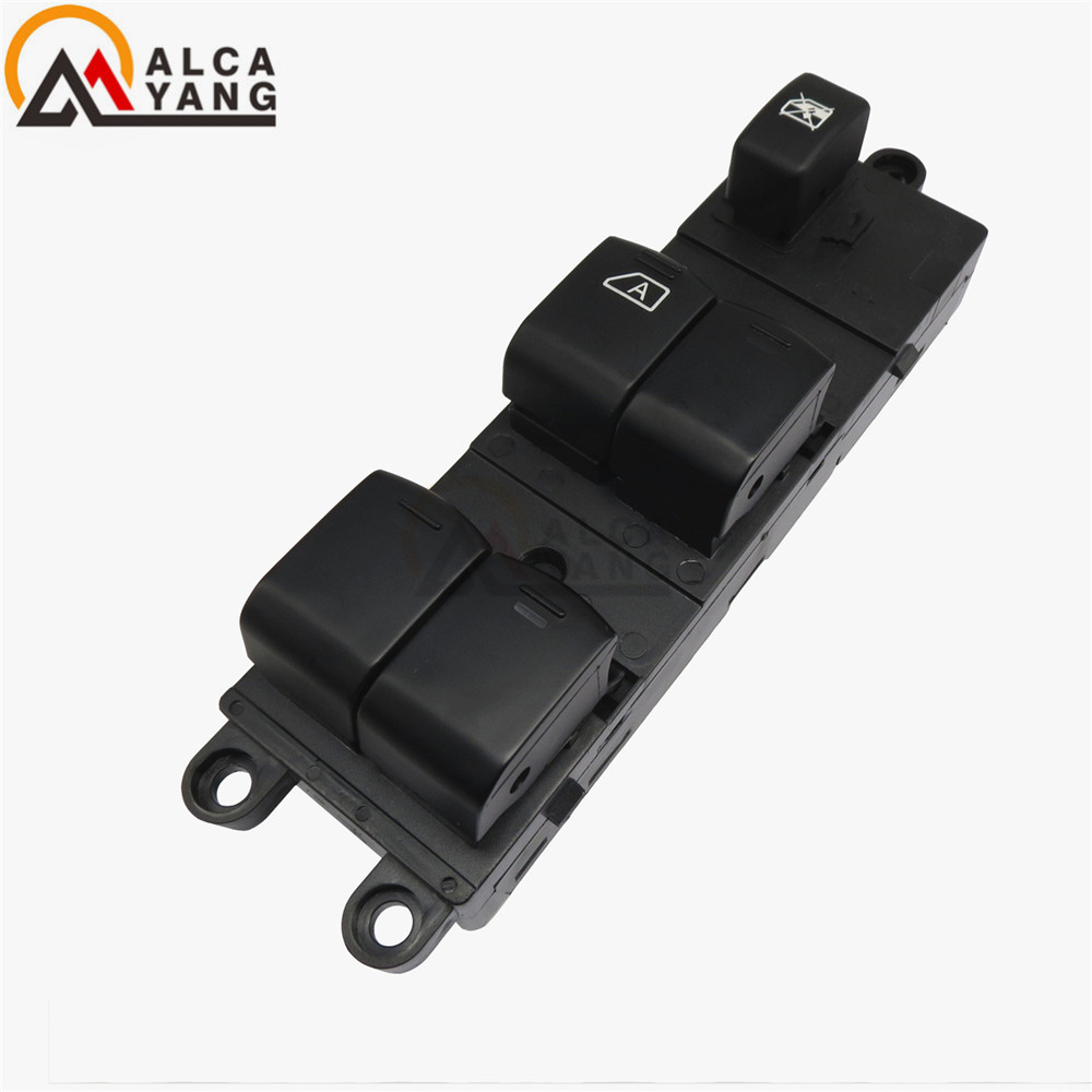 Control Switch 25401-EB30B 25401EB30B Front Left Power Window Lifter Master For Nissan Pathfinder R51 Navara D40 King Cab Pickup for nissan tiida lhd 2011 2014 front left driver side electric switch car window master button 25401 3df0b