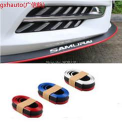 Для Chevrolet Corvette C4 C5 C6 C7 бампер губы/Car для губ магазин спойлер/комплект тело + Полосатые /Car царапинам клейкой ленты