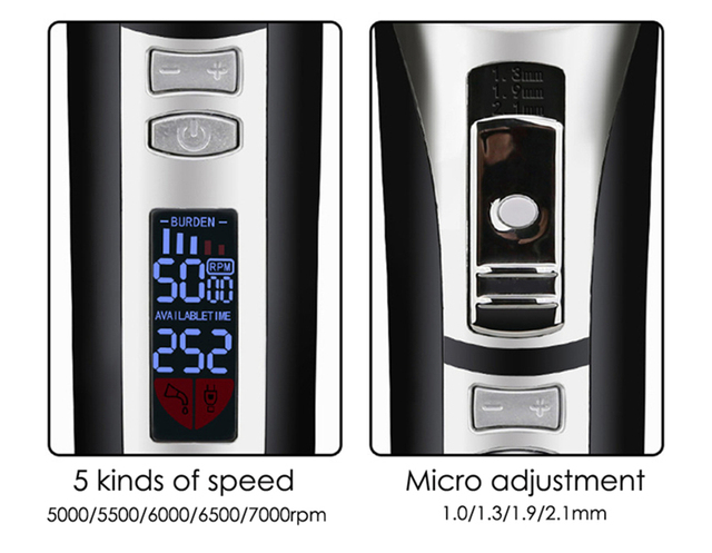 Professional Pet Hair Trimmer with LED Speed/Power Display