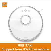 Ship From US RU Free Shipping Original Roborock S50 SmartCleaning Sweep Wet Mop App Control Xiaomi