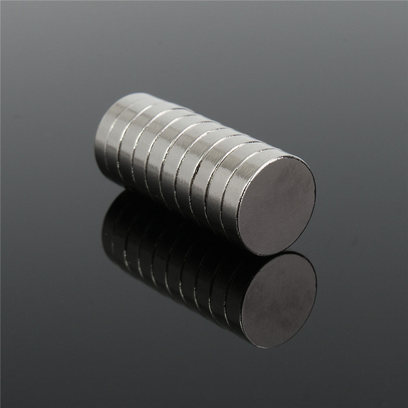 10Pcs 12mm dia x 3mm N35 Round Magnets Strong Neodymium Rare Earth Permenent Magnets 12x3mm Disc magnets Craft Fidge Model DIY qs 3mm216a diy 3mm round neodymium magnets golden 216 pcs