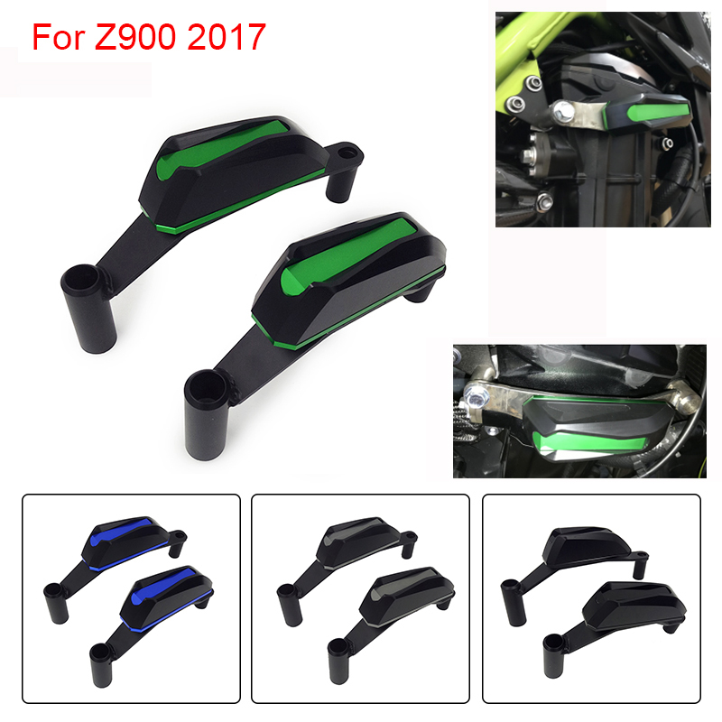 For Kawasaki Z900 Z 900 2017 Frame Slider Engine Guard Protection Case Saver Motorcycle Accessories kemimoto for kawasaki z900 2017 frame slider engine guard protection case saver for kawasaki z 900 2017 moto parts accessories