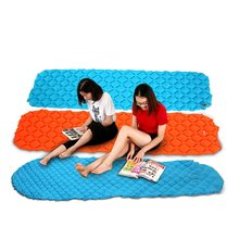 Outdoor Inflatable Cushion Sleeping Mat Pad Mattress Rectangle Camping Travel Air Support
