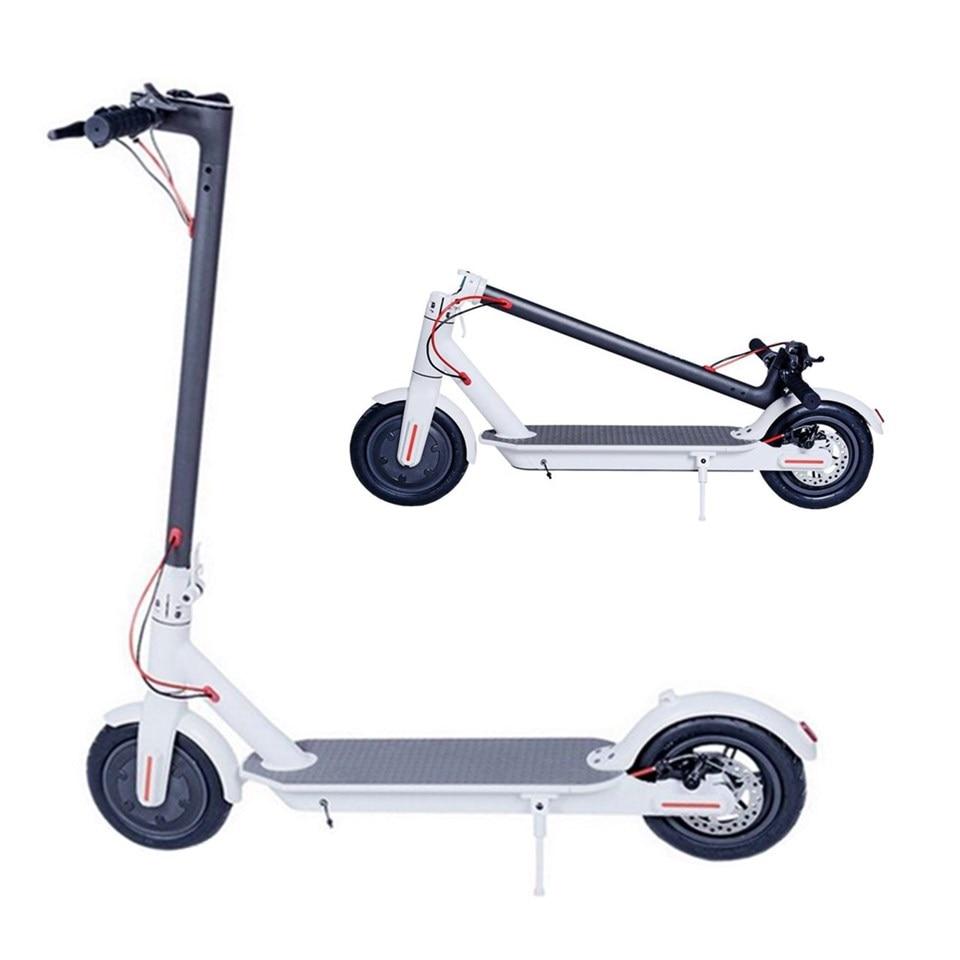 UE Stock Adulte Pliage trottinette électrique 8.5 Pouces Pliable Scooter électrique Deux Roues E-Scooter Mini Scooter intelligent
