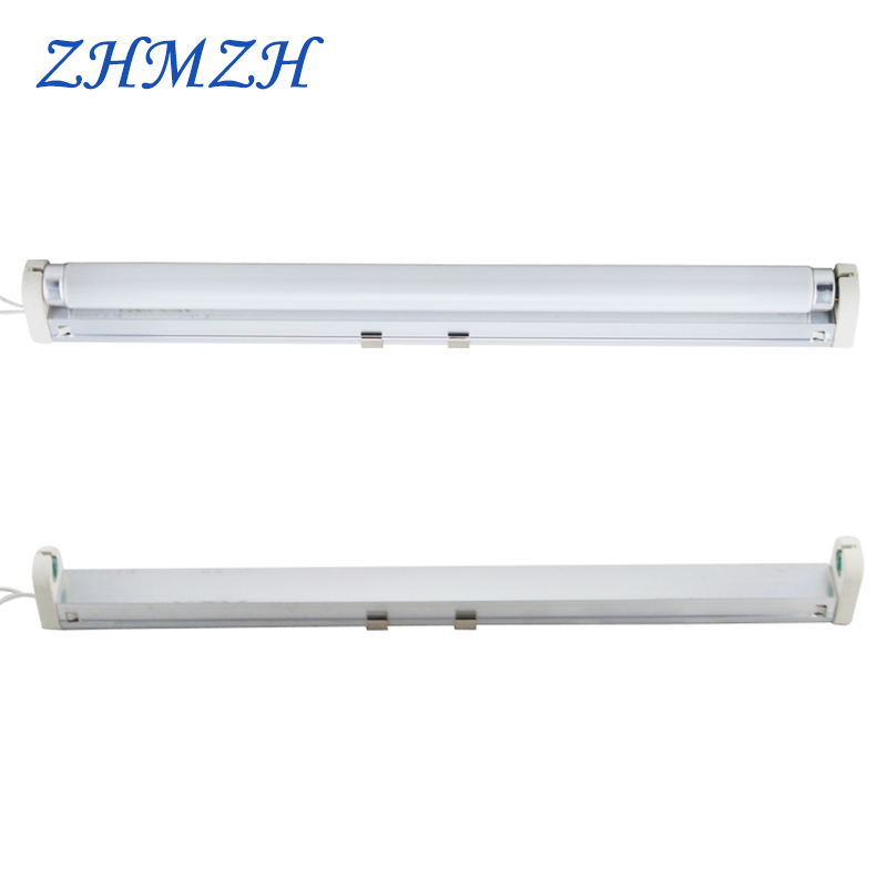 220V T8 Fluorescent Lamp Tube And Lamp Holder 10W 15W Energy Saving Lamps 33cm 43.5cm Indoor Lights Free Shipping