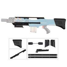 Worker W001 3D Printing Mod Kits Set Exterior Parts Kit for Nerf N-Strike Elite Stryfe Blaster Modify Toy Gun Accessories