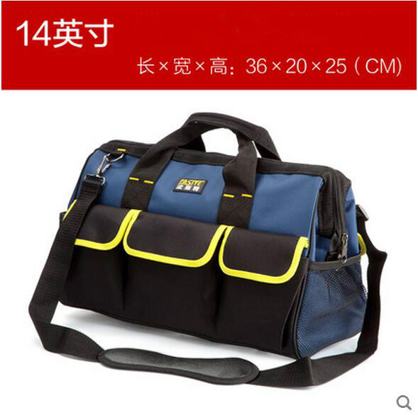 FASITE Tool Combo Bag WAIST BELT Organizer Professional Electricians Tool Pouch Red Tool Bag Blue td new design electricians waist pocket tool belt pouch bag screwdriver carry case holder outdoor working free shipping
