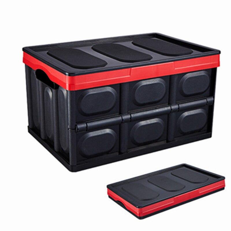 30L Portable pli boîte de rangement bacs respectueux de l'environnement PP fort organisateur de stockage pour voiture salon cuisine télescopique boîte en plastique