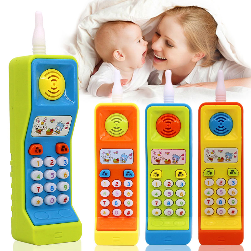 Intelligent Learning Machine Cell Phone Toy Learning Machine Point Reading Machine Colours Plastic Electric Study Learn Words